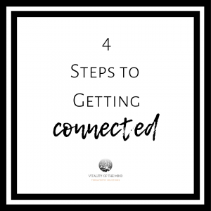 Getting Connected to the mental help you need